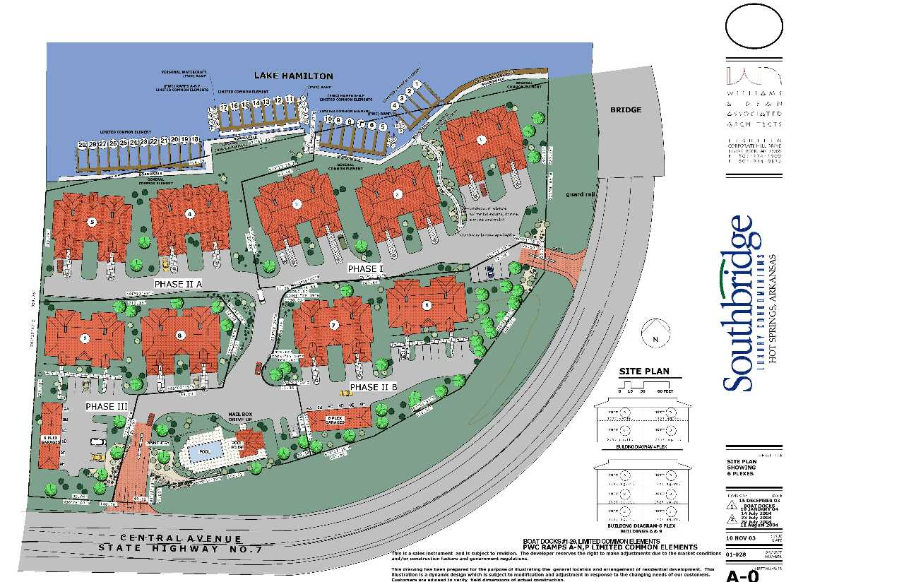 Southbridge Siteplan - click on the image to enlarge